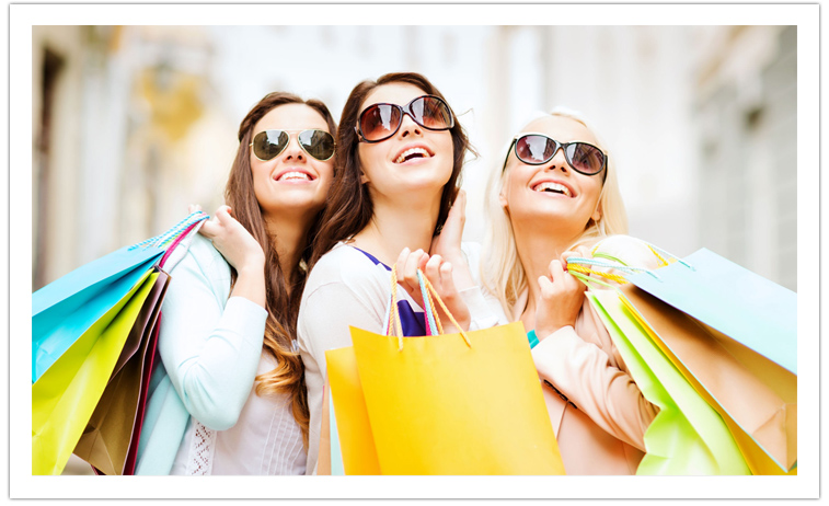 Meninas-Shopping